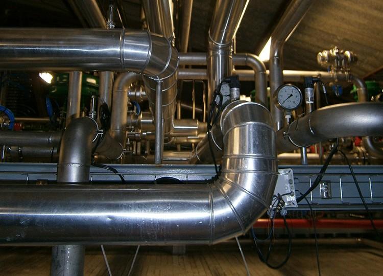 Tubo de chapa de acero galvanizada