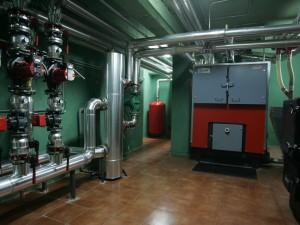 Circuitos de calderas a vapor.