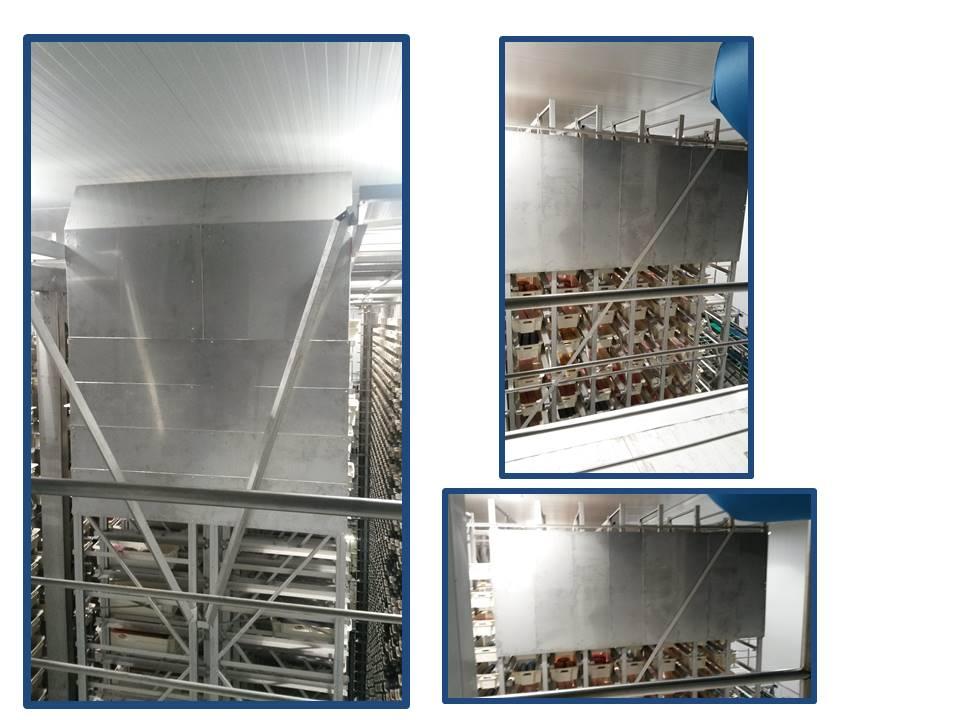 Montaje Industrial: Colocación de chapas de protección en planta de logístico.