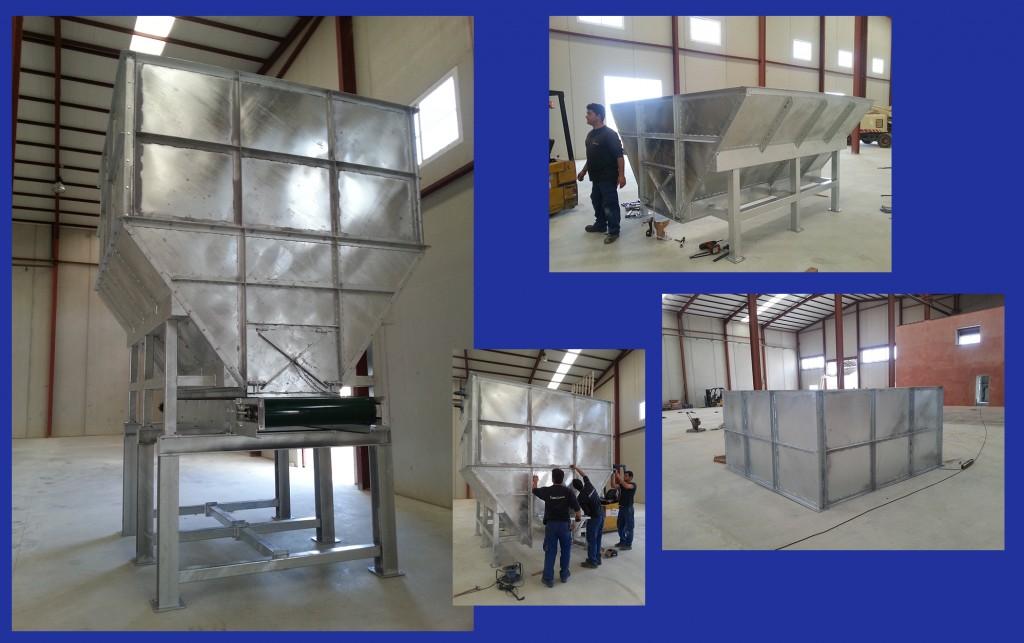 Montaje Industrial: fabricación y montaje de silos