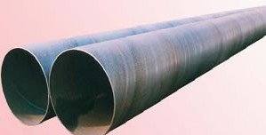 tubo de acero con costura helicoidal