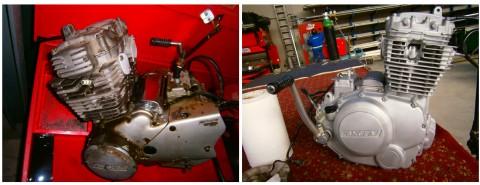 limpieza motor