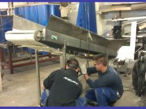 Fabricación de maquinaría adaptada