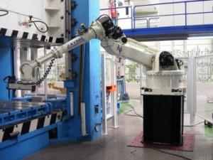 Los robots en el mundo de la industria.